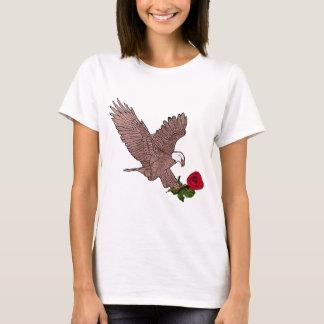 Camiseta a águia e aumentou