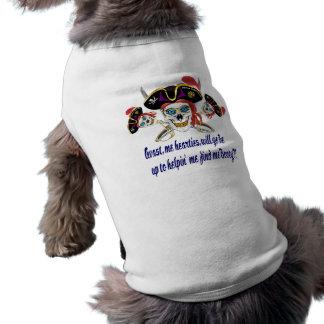 Camiseta A AJUDA do pirata encontra-me montante!