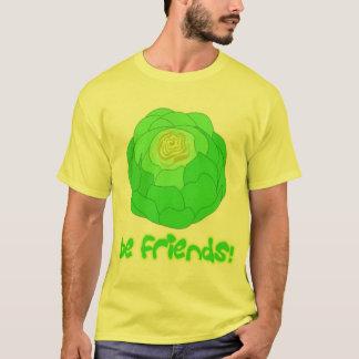 Camiseta a alface seja amigos