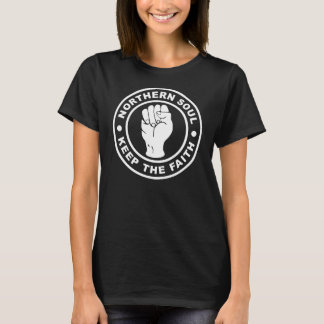 Camiseta A alma do norte mantem a fé