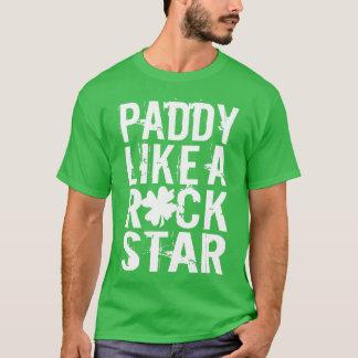 Camiseta A almofada gosta de uma estrela do rock