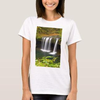 Camiseta A angra superior do montículo cai no outono