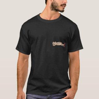 Camiseta A animação está parte traseira da concentração