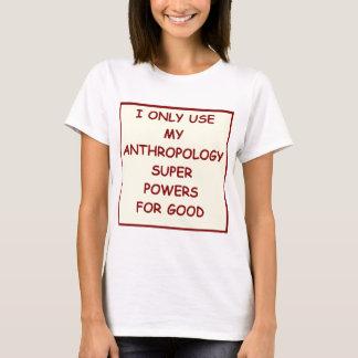 Camiseta a antropologia
