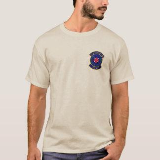 Camiseta A areia longa T da luva