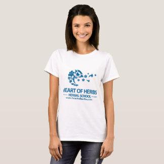 Camiseta A aromaterapia faz o coração dos perfumes do