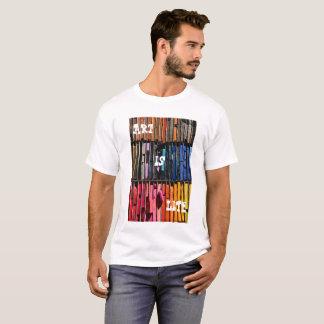 Camiseta A arte é t-shirt da vida