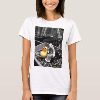 """Camiseta """"A arte Tshirt de borracha do pato do zen"""""""