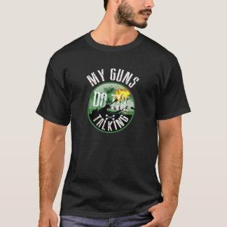 Camiseta A artilharia canadense faz a fala
