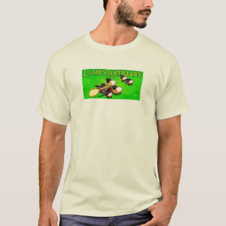 Camiseta A artilharia do cordeiro (grupo de arma dos