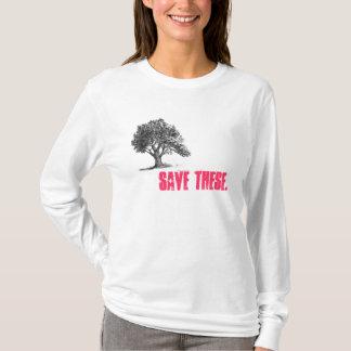 Camiseta a árvore 2, salvar estes