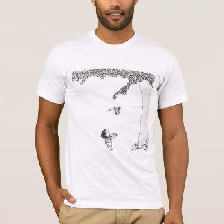 Camiseta a árvore de cobertura