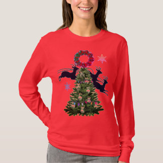 Camiseta A árvore de Natal