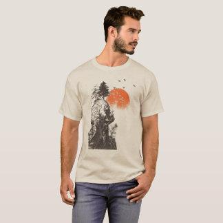 Camiseta A árvore do ser humano de Alan da manutenção