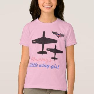 Camiseta a asa-menina pequena dos mmy