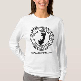 Camiseta A associação dos Stuntwomen unidos - Jessie Graff