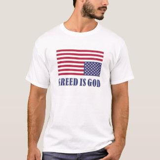 Camiseta A avidez é deus