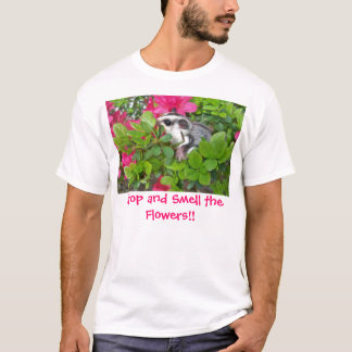 Camiseta A azálea 001 de Splenda, parada e cheira as