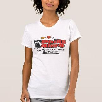 Camiseta A bagageira gosta de um campeão (traseiro)
