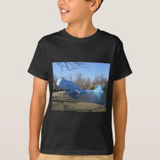 Camiseta A baleia azul de Catoosa