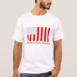 Camiseta A bandeira civil dos Estados Unidos
