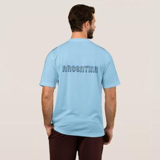 Camiseta A bandeira de Argentina Argentina colore a