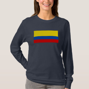 camiseta de colombia vintage