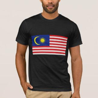 Camiseta A bandeira de Malaysia
