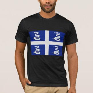Camiseta A bandeira de Martinica