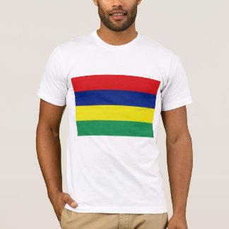 Camiseta A bandeira de Maurícia