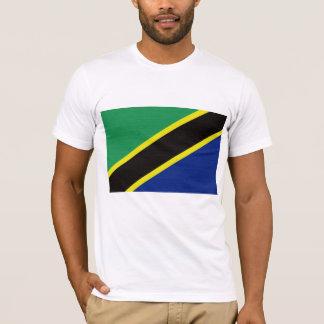 Camiseta A bandeira de Tanzânia