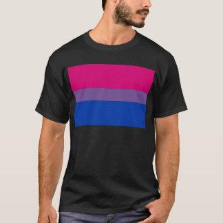 Camiseta A bandeira do Bi voa para o orgulho bissexual