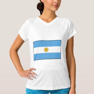 Camiseta A bandeira nacional de Argentina