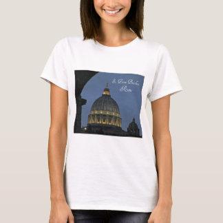 Camiseta A basílica de St Peter, Roma, Italia