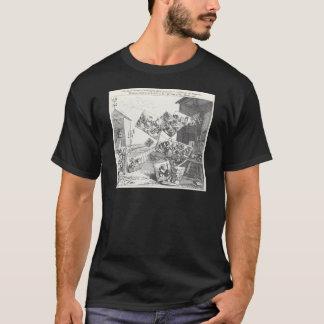 Camiseta A batalha das imagens por William Hogarth
