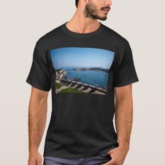 Camiseta A bateria de saudação