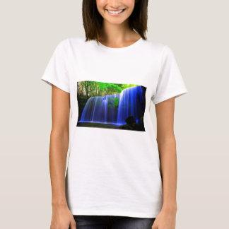 Camiseta a beleza do fluxo