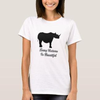 Camiseta A beleza não é medida por peso