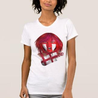 Camiseta A bola, a menina e a bandeira
