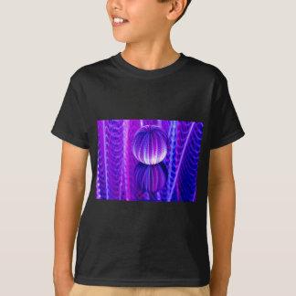 Camiseta a bola de cristal reflete