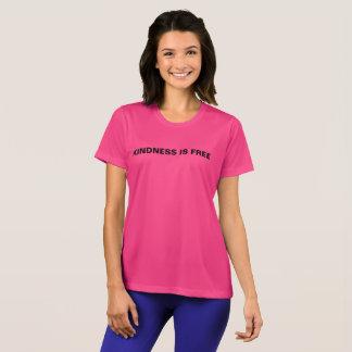 Camiseta A bondade é o t-shirt da mulher livre