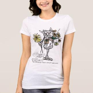 Camiseta A bondade gosta de Wildflowers