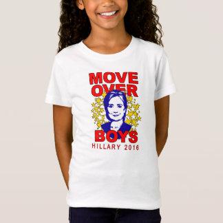 Camiseta A boneca da menina dos meninos de Hillary Clinton