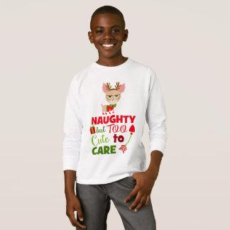 Camiseta A bonito para importar-se o t-shirt engraçado dos