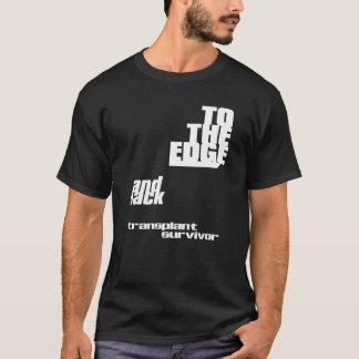 Camiseta À borda e à parte traseira - transplante o