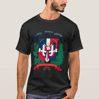 Camiseta A brasão da República Dominicana FAZ