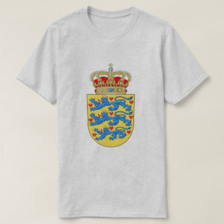 Camiseta A brasão de Dinamarca