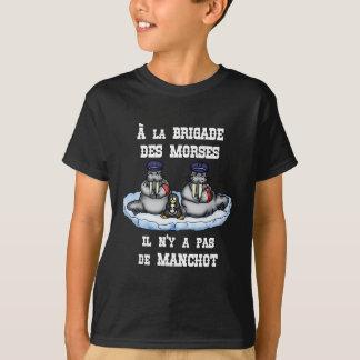 Camiseta À BRIGADA dos MORSE não há MANETA