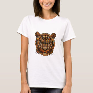 Camiseta A cabeça 1a do tigre