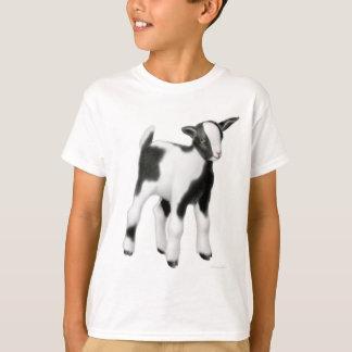 Camiseta A cabra bonito do bebê caçoa o t-shirt